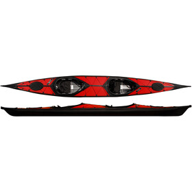 nortik argo 2 Kayak red/black